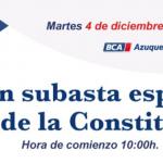 subasta BCA 4 Diciembre