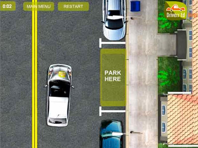 DRIVER PARKING GAME