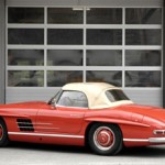 Subasta Mercedes Roadster descapotable