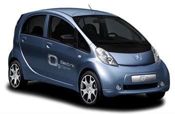 Coche eléctrico de Peugeot