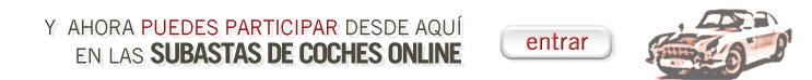 Subastas de coches Online