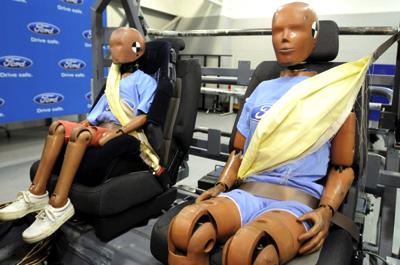 cinturón de seguridad inflable